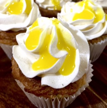 Lemon Curd Cupcakes (GF only or GF/Vegan available)